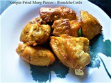 Simple Recipe for Fried Murgh Pieces