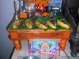 Simple Satyanarayana Pooja at Home in Marathi