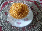 Spicy Tomato Sev for Diwali Faral
