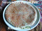 Sweet and Delicious Strawberry Puran Poli