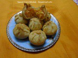 Sweet Corn Modak Recipe in Marathi