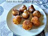 Talele Rice Balls Recipe in Marathi