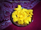 Tasty Ananas Thandai Recipe in Marathi