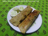 Tasty Indian Style Cheese Chicken Rolls