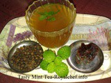 Tasty Mint Tea Recipe in Marathi