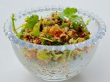 Quinoa salad recipe with red rice