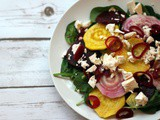 Beetroot Salad with Feta and Honey Vinaigrette