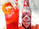 Cranberry and Orange Cooler