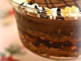 Dark Chocolate, Orange and Ginger Trifle