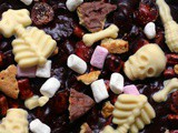 New and Improved Spooky Rocky Road Bars