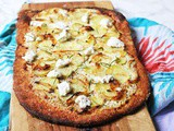 Potato, Ricotta and Rosemary White Pizza
