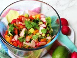 Radish and Lime Salsa