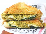 Spinach, Artichoke and Pesto Grilled Cheese Toastie