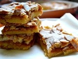 Apricot-Almond Meringue Cookie Bars