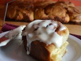 Southern-Style Frosted Cinnamon Rolls