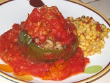 Cooking is like love. It should be entered into with abandon or not at all. – Harriet Van Horne and Two-Step Hungarian Stuffed Peppers