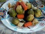It takes considerable knowledge just to realize the extent of your own ignorance. – Thomas Sowell and Oven Roasted Spicy Brussels Sprouts and Carrots