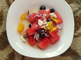 What is the use of a house if you haven't got a tolerable planet to put it on? – Henry David Thoreau and Watermelon and Heirloom Tomato Salad
