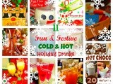 11 Festive Holiday Drinks {Hot & Cold}