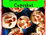 Bloody Broken Glass Cupcakes for Halloween