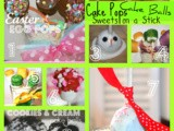 Cake Pops, Cake Balls and Pinterest Blog Hop