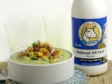Cinco de Mayo Recipes: Kefir Chilled Avocado Soup