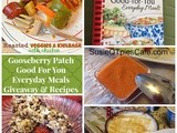 Gooseberry Patch Good-For-You Everyday Meals Cookbook Review and Giveaway