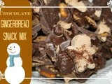 Holiday Menu Gingerbread Snack Mix & Holiday Hop of Goodies