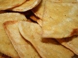 Homemade Crispy Pita Chips