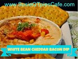 {Mother's Day} white bean cheddar bacon dip
