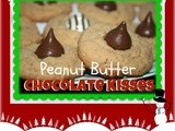 Peanut Butter Chocolate Kisses Christmas Goodies
