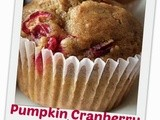 Pumpkin Cranberry Mini Breakfast Muffins