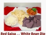 Red Salsa and White Bean Dip and 4th of July Recipes