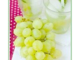 {Summer Drink Recipe} Green Grape Spritzer