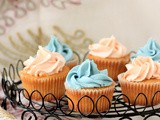 Caramel Cupcakes (Dulce de Leche Cupcakes) with Buttercream Frosting
