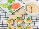 Onion and Poppy Seed Crackers ~ Daring Bakers' challenge, February 2013