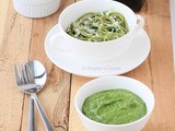 Spinach Basil Pesto Sauce Recipe