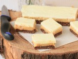 White Chocolate Caramel Slice