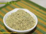 Karuvepillai Podi / Curry leaves Powder