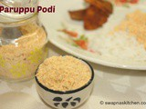 Paruppu Podi (with garlic)