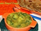 Potato Brinjal Gravy