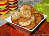 Raw plantain chips / Vaalakai chips