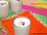 Thandai Recipe-Special Holi Drink