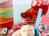 Strawberry Clotted Cream Ice Cream