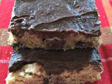 Chocolate Peanut Butter Bars Updated