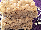 Maple Oat Nut Bar Cookies