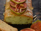 Cold oven Fig and almond tea cake