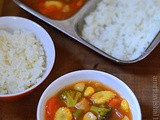 Sweet and sour Vegetables-Vaanya's favourite