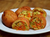 Tiranga Bread Roll