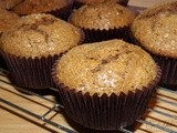 Coffee and walnut muffins